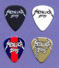 Metallica James Hetfield 4 Guitar Pick Set - 2015 Tour