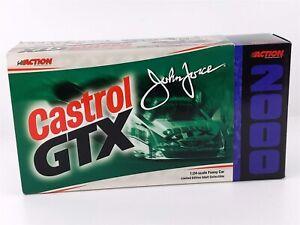 Action John Force CASTROL GTX MUSTANG FUNNY CAR NHRA 1:24 Diecast 2000 NIB
