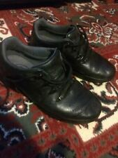 Timberland Black Leather Shoes, Mens UK 7.5