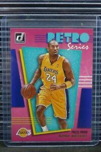 2019-20 Donruss Kobe Bryant Retro Series Press Proof #28 Lakers C754