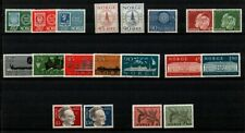 Norway Scott 337 / 407 Collection of Mint Nh sets (Catalog Value $36.00)