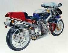 263827 1987 HONDA VFR 750R RC30 CUTAWAY VINTAGE MOTORCYCLE WALL PRINT POSTER FR