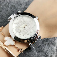 Fashion Bear Watches Stainless steel MAMA Wristwatch crystal bear Watch