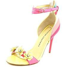 Sandalias y chanclas de mujer rosa Laundry sintético