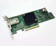 LSI 9207-4i4e 6G PCIe x8 Gebraucht SAS SATA HBA IT Mode FreeNas Avago Low Profil