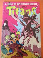 TITANS N)° 139 Août 1990 Excalibur Avengers les nouveaux mutant