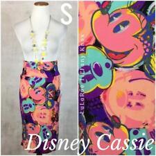 SMALL LuLaRoe CASSIE skirt Disney Mickey Minnie Mouse pink purple teal NWT S