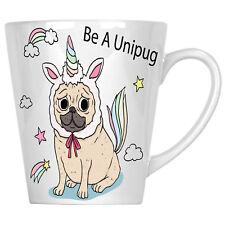Unipug pug  Unicorn 12oz Latte Mug r780L