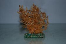 Plante d'aquarium AMBRE ORANGE plante & Base lestée 13 cm