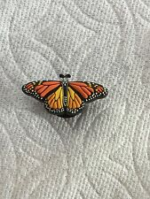 RARE MONARCH BUTTERFLY JIBBITZ MONARCH SHOE CHARM FIT CROCS BUTTERFLY CLOG CHARM