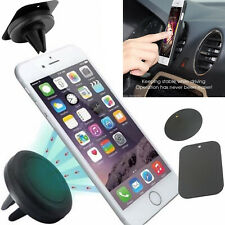 In Car For Apple iPhone 8/7/6/5/4 Magnetic Air Vent Mount Mobile Holder Kit