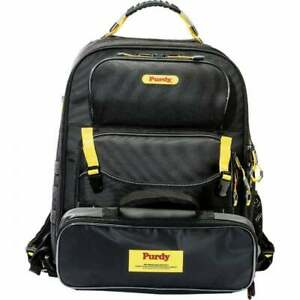 Purdy® Painter's Backpack - Multi-Compartment Back Pack Tools Rollers & USB Port