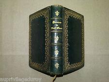 Livre Religieux ancien : Imitation de Jésus-Christ, édition bijou, vers 1890