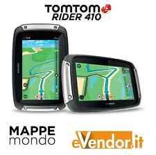 Nuovo TomTom RIDER 410 Premium Pack - Navigatore GPS 2016 bluetooth moto