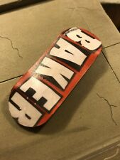 LC BOARDS Fingerboard 98x34 Baker Graphic Brand New FREE Grip Tape And Sticker