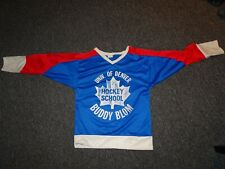 VINTAGE DU HOCKEY SCHOOL HOCKEY JERSEY BUDDY BLOM 1970'S CANADA! RARE!