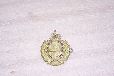Canada WWII 2 First Hussars Cap Badge
