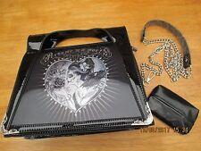 Alchemy Gothic-Donna GOTHIC handbag - 3D FANTASIA-DE LA MORT-GRATIS COVER tessuto