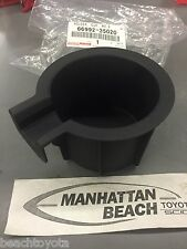 2010-2013 4RUNNER RIGHT Rear Console Cup Holder Insert 66992-35020 OEM TOYOTA
