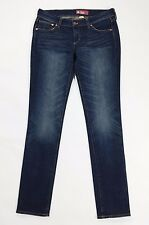 HM Sqin jeans donna tg 42 44 size w29 usato blu gamba stretta skinny slim T756