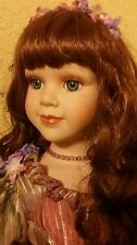 "SALE!! Gorgeous Porcelain Long Red Hair Doll TONI. 23"" Court of Dolls. Great $$"
