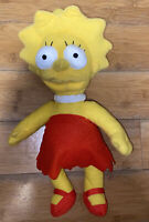 The Simpsons Lisa Simpson Plush Stuffed Yellow Doll Toy 2015 Toy Factory