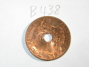 1 Cent French Indochina Coin 1939-A (See Photos) #B438