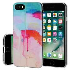 Soft Gel Premium TPU Graphic Skin Case Cover for iphone 7 - Watercolor Drip