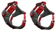 Kurgo JOURNEY DOG Harness + (1) Hanger - SET of (2), Size SMALL, Color RED - NEW