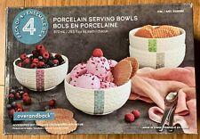 Porcelain Serving Bowls | Overandback | Pack of 4