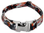 Country Brook Design® Premium Orange Digital Camo Dog Collar