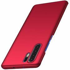Case Huawei P30 ShockProof Hard Back Ultra Thin Matt Cover Red Green Purple Blue