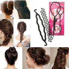 Tool  Accessories Women  Donut Stick  Hair Braiding Hair Twist Bun Maker