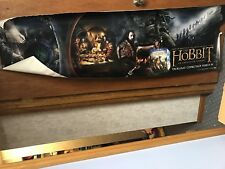 RARE The Hobbit An Unexpected Journey Promotional Vinyl Banner Poster HUGE 84x24