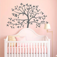 Tree Wall Sticker, Tree Wall Decal Decor, Tree Wall Sticker Removable Vinyl Wall