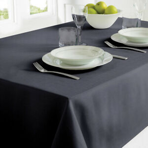Country Club Table Cloth 130 x 180 Black Party Table Decoration Xmas Home Style