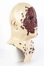 Zombie Skinned Alive Mask Latex Halloween Fancy Dress Costume Gory Face Removed