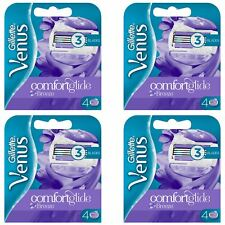 16 x Gillette Venus Breeze Women's Replacement Razor Blades with Shave Gel Bars