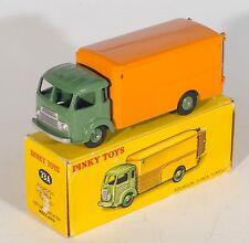 FRENCH DINKY 33A SIMCA Cargo Van. GIALLO ARANCIONE / VERDE. con BOX. ORIGINALE 1950's