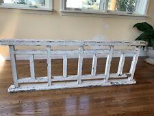 Antique Vintage Wood Banister Handrail Balustrade