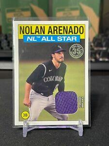 2021 Topps Series 2 Nolan Arenado! Relic Card! Rockies! Cardinals! NL All Star!