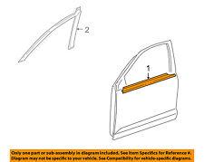 TOYOTA OEM Matrix-Door Window Sweep-Belt Molding Weatherstrip Left 7572001031