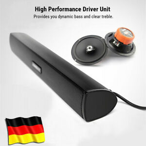 Mini USB Lautsprecher Laptop Subwoofer Stereo Soundbar Lautsprecher FüR PC DHL