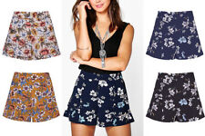 Floral Mid 7-13 in. Inseam Shorts for Women