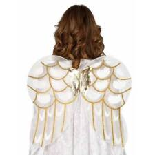 Gold Glitter ANGEL WINGS Nativity Christmas 54 x 48 cm Ladies Fancy Dress