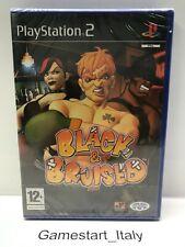 BLACK & BRUISED - SONY PS2 PLAYSTATION 2 - NUOVO SIGILLATO NEW SEALED PAL