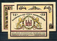 Quackenbrück 3 Scheine Notgeld ............................................z1206