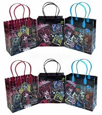 12PCS Monster High Mattel Goodie Party Favor Gift Birthday Loot Bags Licensed