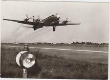Interflug der DDR 1975 ! Propeller - Turbinen - Flugzeug IL 18 !