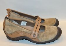 Womens Nearly New Merrell Wedge Trail Shoes Size 7.5 US Brown Leather FLAWLESS